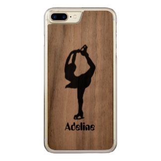 Girl Ice Skating Figure Skating Carved iPhone 7 Plus Case
