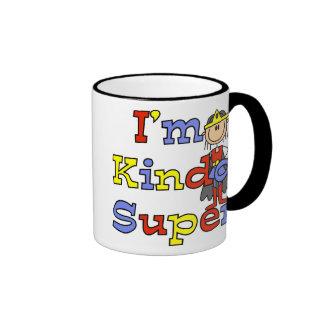 Girl I'm Kinda Super Ringer Mug