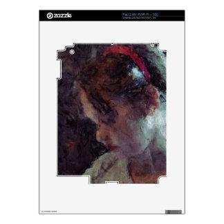 Girl - Impressionist Art by Johannes Krantz iPad 2 Skins