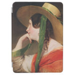 Girl in a Yellow Straw Hat, iPad Air Cover
