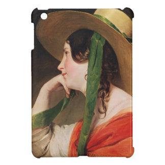 Girl in a Yellow Straw Hat, iPad Mini Cases