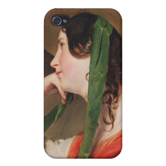 Girl in a Yellow Straw Hat, iPhone 4 Cover