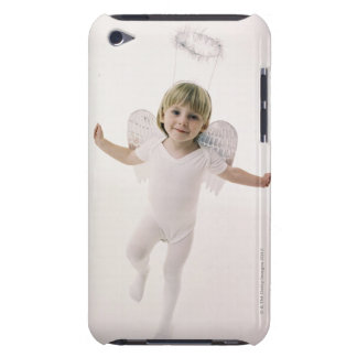 Girl in an angel costume iPod Case-Mate case