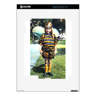 Girl in Bee Costume 1920s Skin For iPad 2