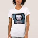Girl in black t-shirt