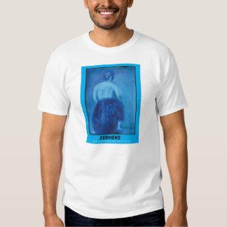 """Girl in Blue"" by Zermeno T Shirt"