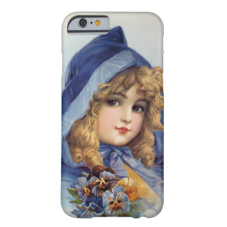Girl in Blue Hood Barely There iPhone 6 Case