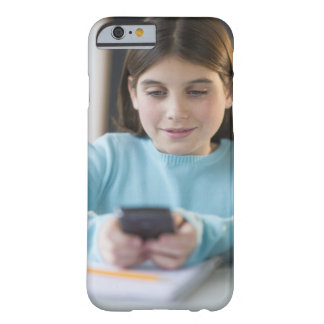 Girl in classroom barely there iPhone 6 case