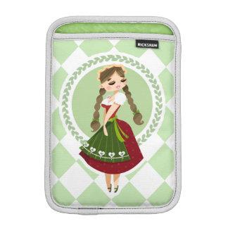 Girl in Dirndl Sleeve For iPad Mini
