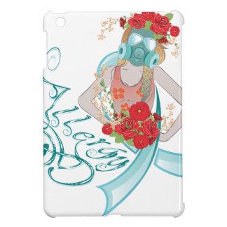 Girl in Gasmask Allergy2 iPad Mini Cases