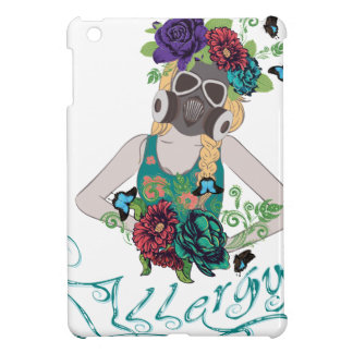 Girl in Gasmask Allergy 2 Cover For The iPad Mini