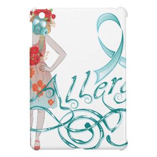 Girl in Gasmask Allergy iPad Mini Covers