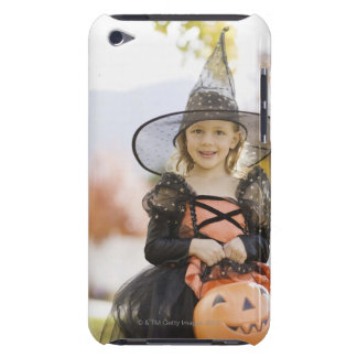 Girl in Halloween costume iPod Touch Case
