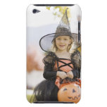 Girl in Halloween costume iPod Touch Cover