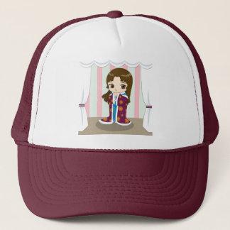 Girl in Kimono Hat