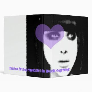 Girl in love... binder