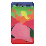 Girl in Mountains from ZermenoGallery.com Motorola Droid RAZR Cover