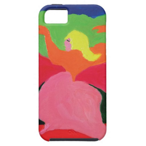 Girl in Mountains from ZermenoGallery.com iPhone 5 Cover