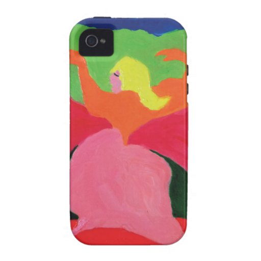 Girl in Mountains from ZermenoGallery.com Vibe iPhone 4 Cases