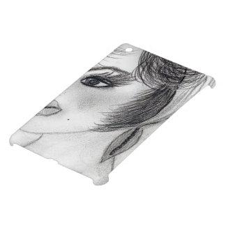 Girl in Pillbox Cap iPad Mini Cases