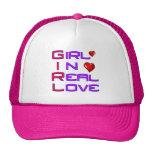 Girl in Real Love Trucker Hat