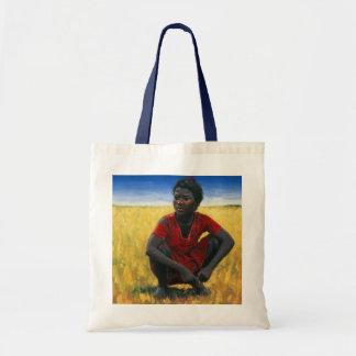 Girl in Red 1992 Budget Tote Bag