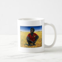 Girl in Red 1992 Coffee Mug