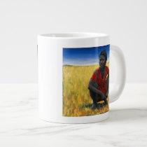 Girl in Red 1992 Large Coffee Mug
