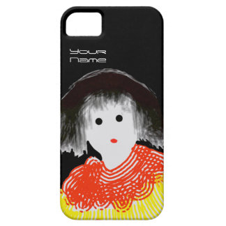 Girl in Red Shoes iPhone 5 Cases