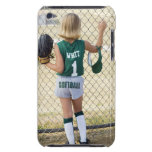 Girl in softball uniform Case-Mate iPod touch case