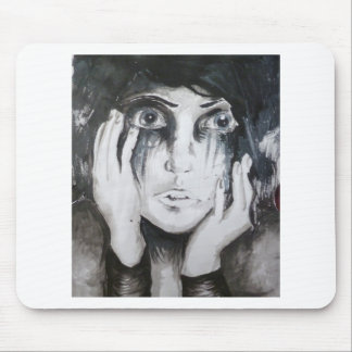 Girl In Tears Mouse Pad