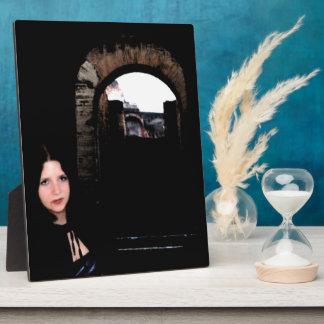 Girl in the Dark Display Plaque