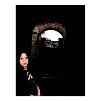 Girl in the Dark Postcard