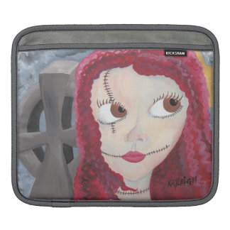 Girl in the Grave Yard Sleeve For iPads