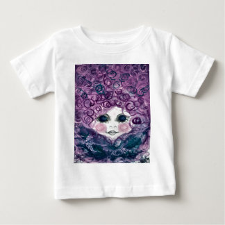 Girl in the nest baby T-Shirt