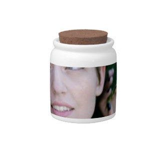 Girl in the Woods Candy Jars