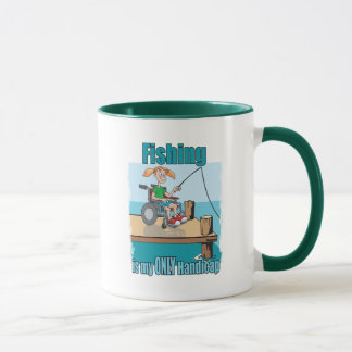 Girl in WheelChair Fishing Mug