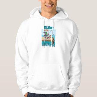 Girl in WheelChair Fishing Sweatshirt