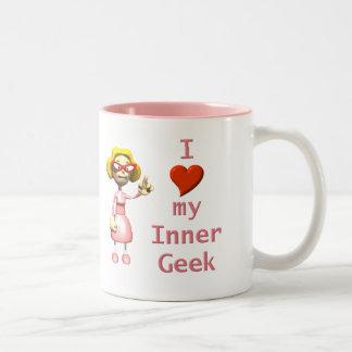 Girl Inner Geek Mugs