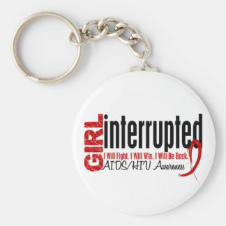 Girl Interrupted 1 AIDS Key Chain