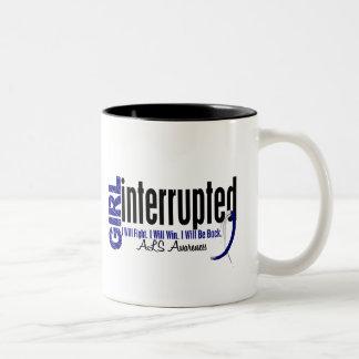 Girl Interrupted 1 ALS Two-Tone Coffee Mug