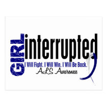 Girl Interrupted 1 ALS Postcard