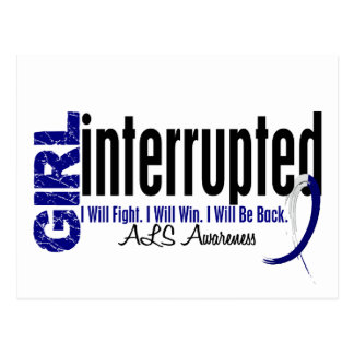 Girl Interrupted 1 ALS Postcard