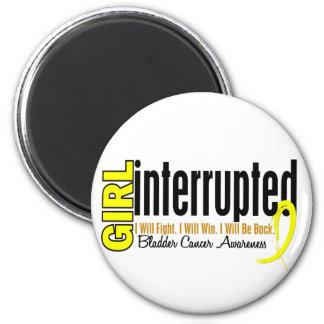 Girl Interrupted 1 Bladder Cancer Magnet