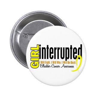 Girl Interrupted 1 Bladder Cancer Pinback Buttons