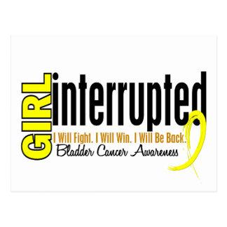 Girl Interrupted 1 Bladder Cancer Postcard