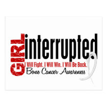 Girl Interrupted 1 Bone Cancer Postcard