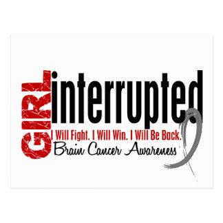Girl Interrupted 1 Brain Cancer Postcard