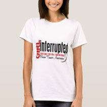 Girl Interrupted 1 Brain Tumor T-Shirt