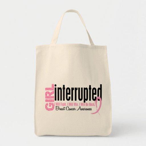 Girl Interrupted 1 Breast Cancer Tote Bag